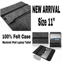 FELT SLEEVE CASE MACBOOK IPAD TABLET HANDCRAFTED 11 inch