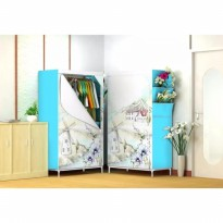 Wardrobe Organizer Lemari Pakaian Multifunction Large - Farm House