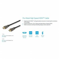 HOT PROMO!!! HP Cable HDMI Pro /Metal High Speed 3m 55683 4Kx2K