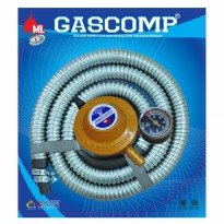 GASCOMP GRC-924E Selang Gas + Regulator Trading Kepala Gas GRC 924E