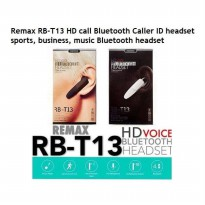 Remax HD Voice Bluetooth Headset RB-T13 HF Earphone Wireless ORIGINAL