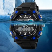 SKMEI AD1092 Men Sport LED Watch - Jam Tangan Pria Sporty 1092