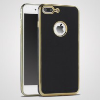 Case iPhone 7/7 Plus +/6/6s Slim Silicone Electroplate 4D TPU Casing