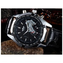 Winner TM340 Automatic Mechanical Watch (Jam Tangan Otomatis - Mekanis Black