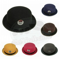 D & D Hat Collection Topi Bowler /Tompi /Fedora Caplin Dewasa New Edition