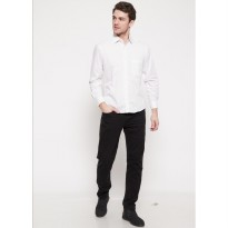 The - Fahrenheit Ancona Long Sleeves Men Shirt - White