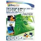 Inkjet Paper (BP-IPA4120) - A4, 50 Sheet, 120 gsm, Cast Coating, Extra White, Water Resistant
