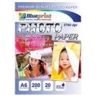 Photo Paper (BP-GPA6200) - A6, 20 Sheet, 200 gsm, Cast Coating, Glossy, Water Resistant