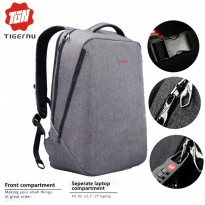 TIGERNU PREMIUM T-B3164 Waterproof FREE GEMBOK Anti Theft - Grey