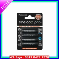 LIMITED baterai AA / Batre rechargeable charge AA eneloop pro 2500 mah