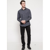 The - Fahrenheit Rimini Long Sleeves Men Shirt - Navy