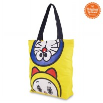 Doraemon And Dorami Tote Bag