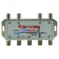 SKYVIEW Diseq Switch 8x1