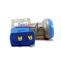 LNB Ku Band Offset Dual Out (2 Out) Kaonsat (2 Receiver)