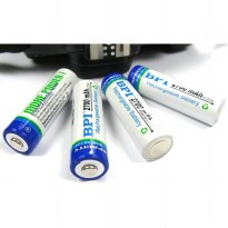 Enelong BPI Ni-MH AA Battery 2700mAh with Button Top 4 PCS - White