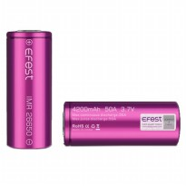 Efest IMR 26650 Battery 4200mAh 3.7V 50A with Flat Top - 26650V1 - Purple