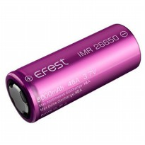 Efest IMR 26650 Battery 5000mAh 3.7V 45A with Flat Top - Purple