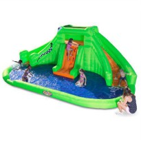 [poledit] Blast Zone Crocodile Isle Inflatable water Park with Dual Slides by Blast Zone (/12187121