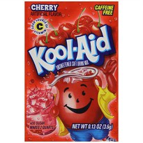 [macyskorea] Kool-Aid Cherry Unsweetened Soft Drink Mix, 0.13 Ounce Packets (Pack of 192)/4394455