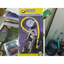 (Limited Offer) ISIAN BAN MOBIL MOTOR PROHEX / TIRE INFLATOR 3 IN 1