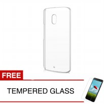 Crystal Case for Lenovo Vibe P2 Turbo / P2a42 - Clear Hardcase +  Gratis Tempered Glass