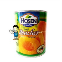 HOSEN Peach in Syrup.