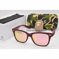 Kacamata Sunglass A Bathing Ape 6807 Red
