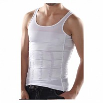 Slim N Lift Body Shaping For Men - Putih - Size XL