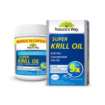 NATURE'S WAY ODOURLESS SUPER KRIL OIL ISI 30 KAPSUL U/ KOLESTESTEROL