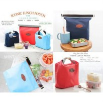 ICONIC INSULATED LUNCH BAG TAS BEKAL MAKAN TAHAN PANAS DINGIN COLD HOT