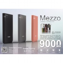VIZZ Powerbank Mezzo 9000 mAh Double Port