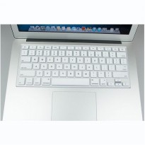 Silicone Keyboard Cover Protector Skin for Macbook Pro 13 Inch - White