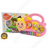Mainan Piano Anak BO - Caterpillar Music Elf - Ages 3+