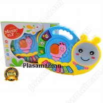 Mainan Piano Anak BO - Snail Music Elf - Ages 3+