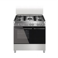 Electrolux EKG-9686X Kompor 5 Tungku with Oven Freestanding [Stainless Steel] + Free Delivery