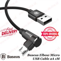 Kabel Data Micro Baseus Elbow Micro USB Cable 2A 1M