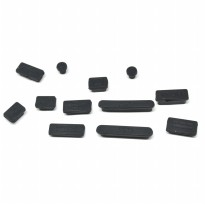 Silicone Notebook Dust Plug - Black