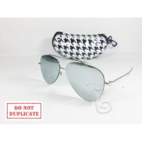 PAHE Kacamata Sunglass Gentle Monster Silver