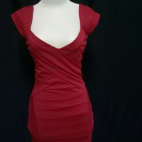 Original bardot red mini dress