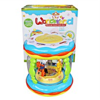 Merry go round music drum Wonderland Besar CY5087B