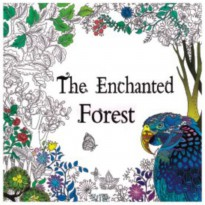 My Style ST 7780 Colouring Book The Enchanted Forest
