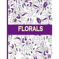 My Style ST 7786 Florals Colouring Book 32 pages