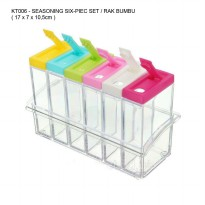 Seasoning Six-Piec Set / Rak Bumbu Dapur - 6 in 1