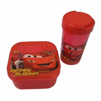 Lunch Box Anak Set Press - Cars