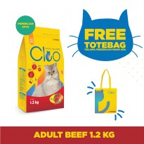 CPPETINDO Cleo Beef Adult Cat - 1,2kg