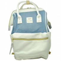 Anello Tas Ransel Oxford Size S - Blue/White