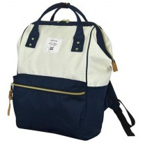 Anello Tas Ransel Oxford Size L - White/Blue