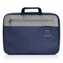 Everki EKF861 ContemPRO Laptop Sleeves Bag with Memory Foam 15.6 Inch - Navy Blue