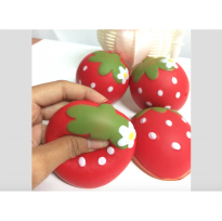 Squishy Strawberry Replica Mother Garden 7 cm Slow Rising CA4