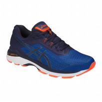 Sepatu Olahraga Lari Fitness Gym Asics Gt-2000 6 Men's Running Shoes- Indigo Blue T805N454S